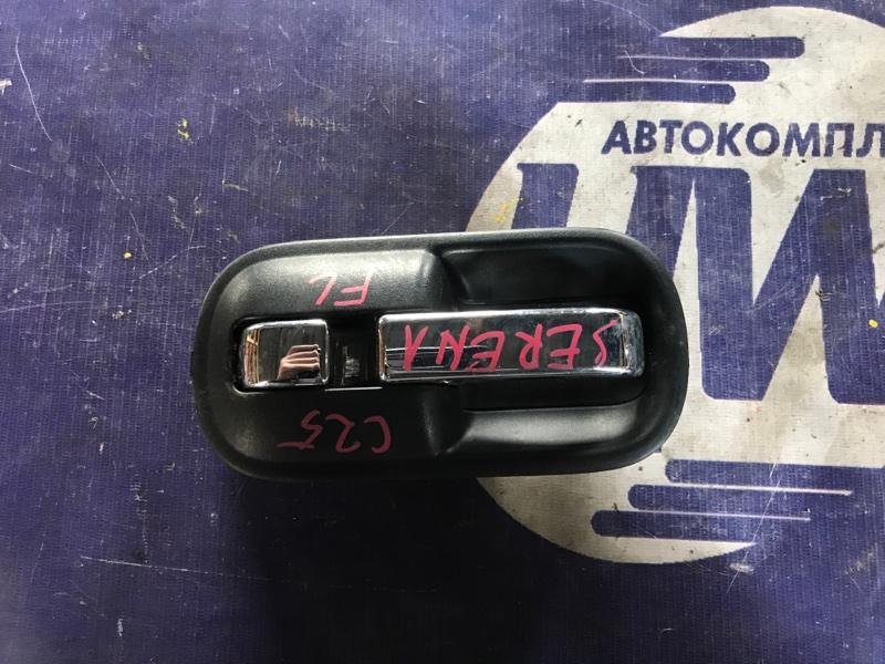 Ручка двери внутренняя Nissan Serena C25 MR20 передняя левая (б/у)