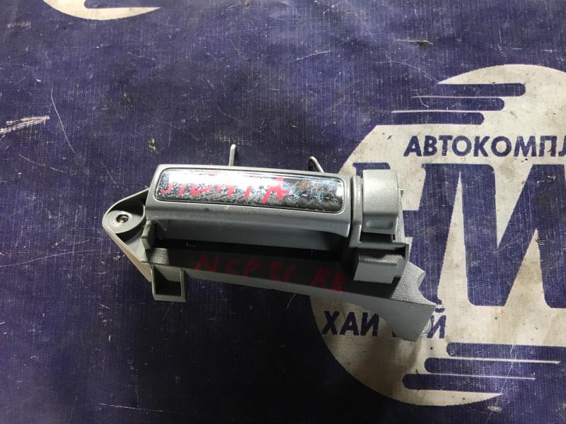 Ручка двери внутренняя Toyota Sienta NCP81 1NZ задняя правая (б/у)