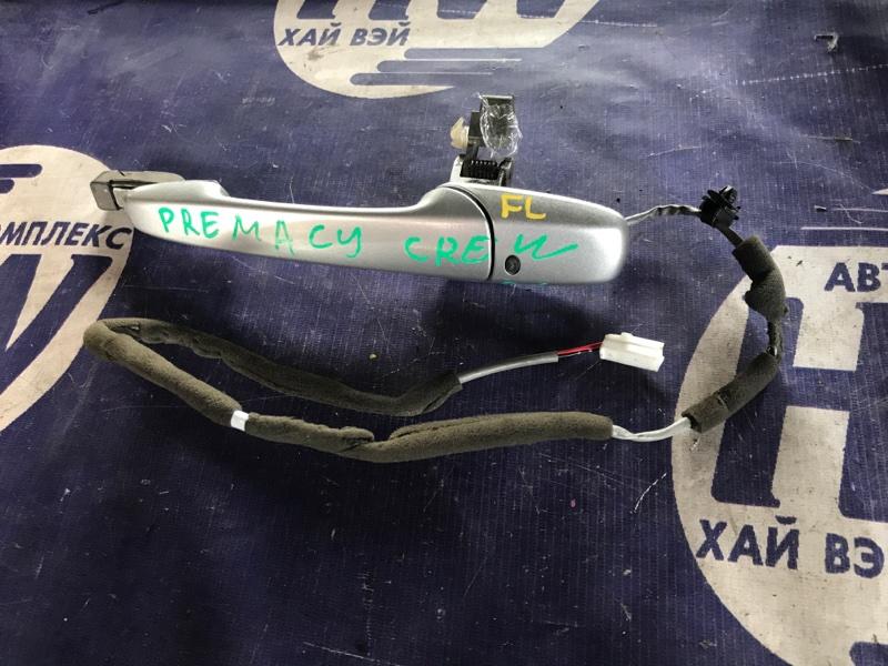 Ручка двери внешняя Mazda Premacy CREW LF передняя левая (б/у)