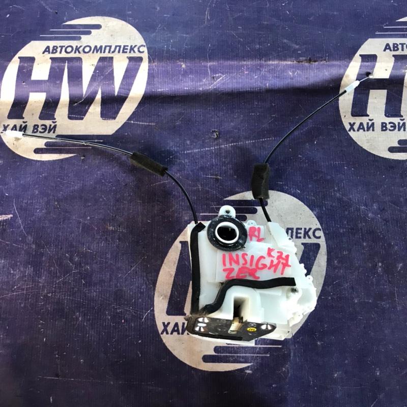 Замок двери Honda Insight ZE2 LDA задний левый (б/у)