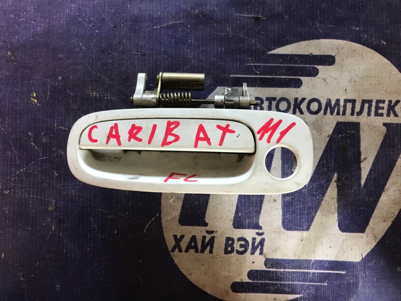 Ручка двери внешняя Toyota Sprinter Carib AE111 4A передняя левая (б/у)