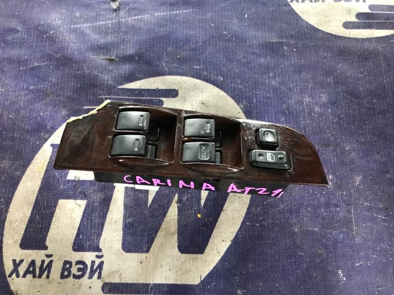 Блок упр. стеклоподъемниками Toyota Carina AT211 7A 2000 передний правый (б/у)