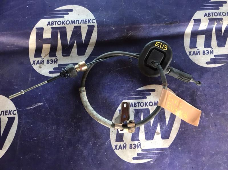 Трос переключения акпп Honda Civic EU3 D17A (б/у)