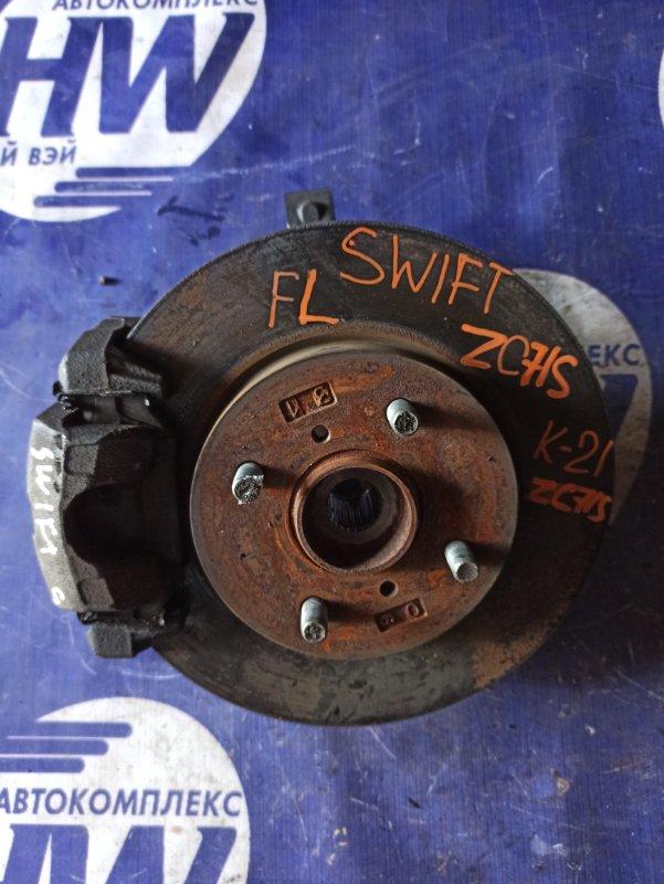 Ступица Suzuki Swift ZC71S K12B передняя левая (б/у)