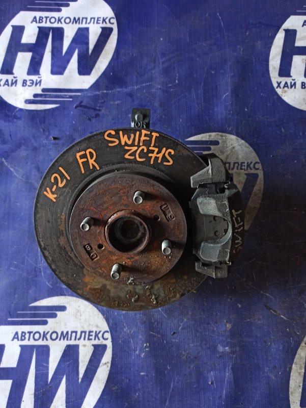 Ступица Suzuki Swift ZC71S K12B передняя правая (б/у)