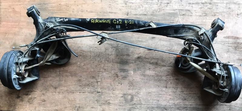 Балка Honda Airwave GJ2 L15A задняя (б/у)