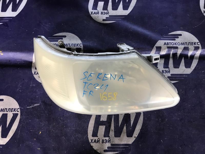 Фара Nissan Serena TC24 QR20 правая (б/у)