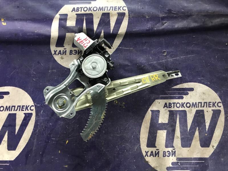 Стеклоподъемник Nissan Tiida C11 HR15 задний правый (б/у)