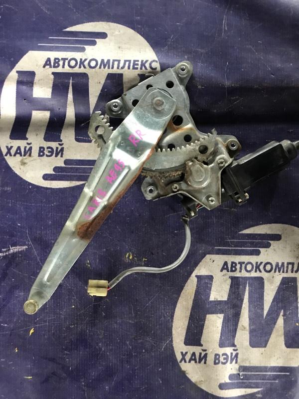 Стеклоподъемник Toyota Sprinter Carib AE95 4AFHE 1995 задний правый (б/у)