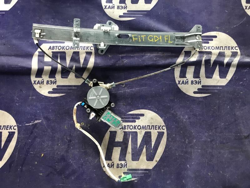 Стеклоподъемник Honda Fit GD3 L15A передний левый (б/у)
