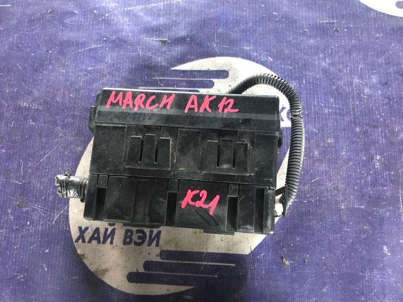 Блок предохранителей Nissan March AK12 CR12 (б/у)