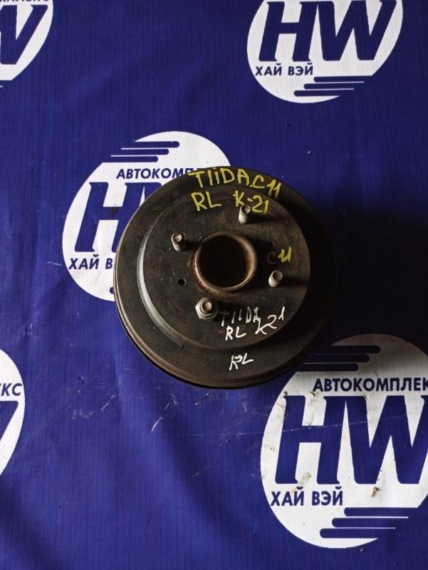 Ступица Nissan Tiida C11 HR15 задняя левая (б/у)