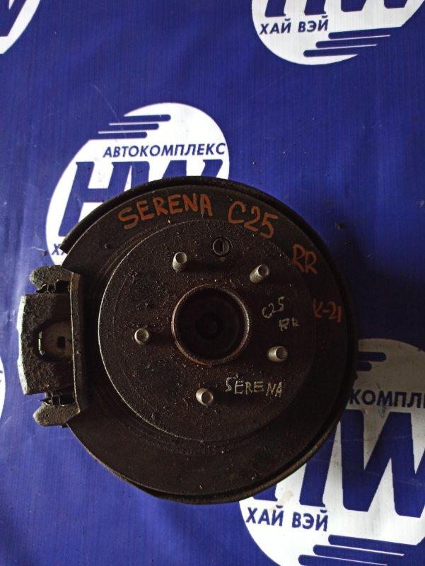 Ступица Nissan Serena C25 MR20 задняя правая (б/у)