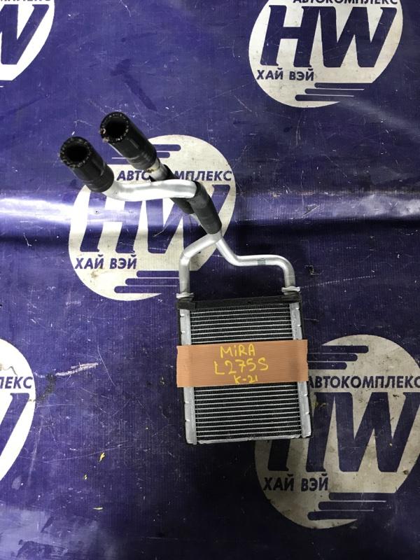 Радиатор печки Daihatsu Mira L275S KFVE (б/у)