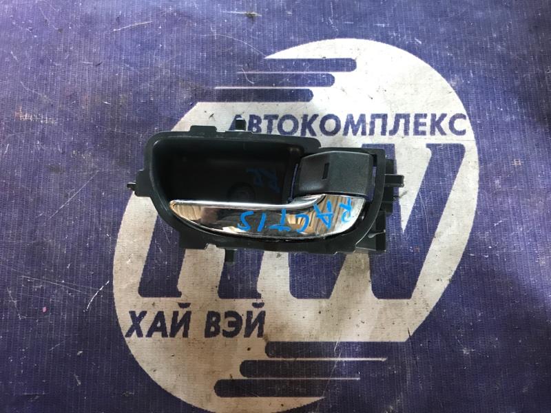 Ручка двери внутренняя Toyota Ractis NCP100 1NZ задняя правая (б/у)