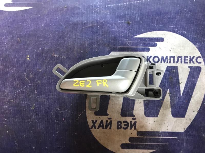 Ручка двери внутренняя Honda Insight ZE2 LDA передняя правая (б/у)