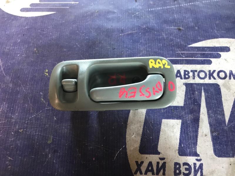 Ручка двери внутренняя Honda Odyssey RA2 F22B задняя правая (б/у)