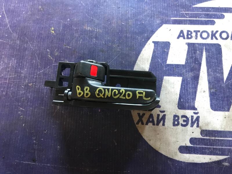 Ручка двери внутренняя Toyota Bb QNC20 K3VE передняя левая (б/у)