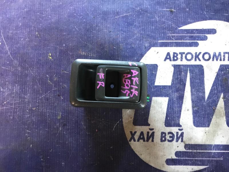 Ручка двери внутренняя Toyota Sprinter Carib AE95 4AFHE 1995 передняя правая (б/у)