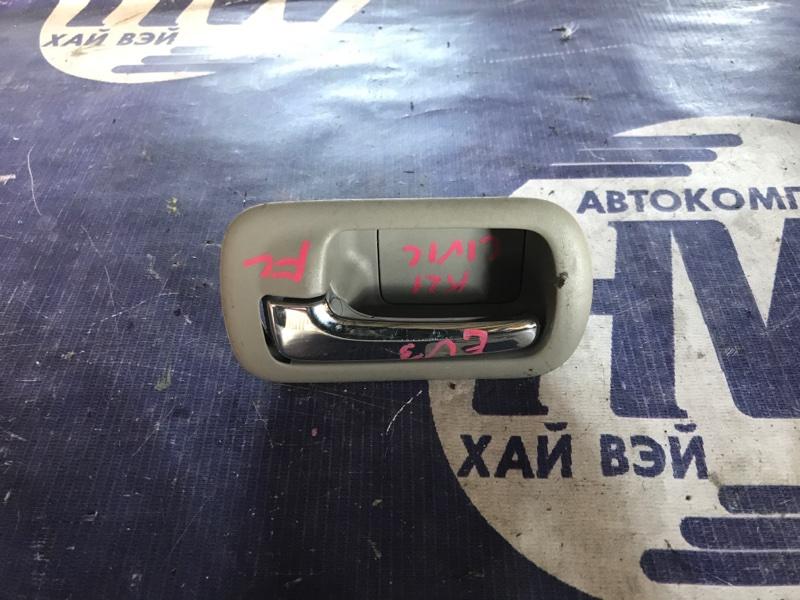 Ручка двери внутренняя Honda Civic EU3 D17A передняя левая (б/у)