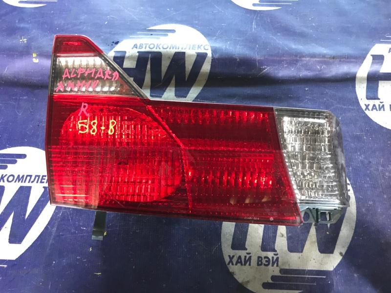 Стоп-вставка Toyota Alphard ANH10 2AZ левая (б/у)