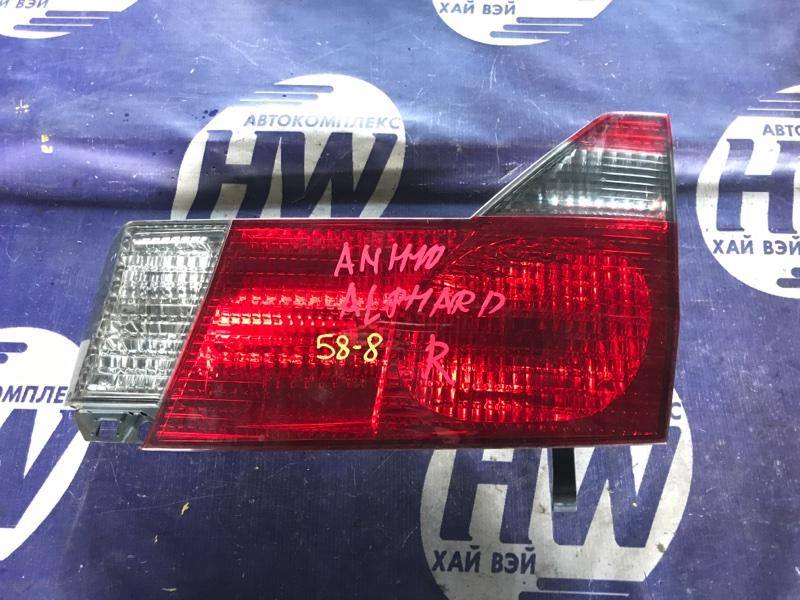Стоп-вставка Toyota Alphard ANH10 2AZ правая (б/у)