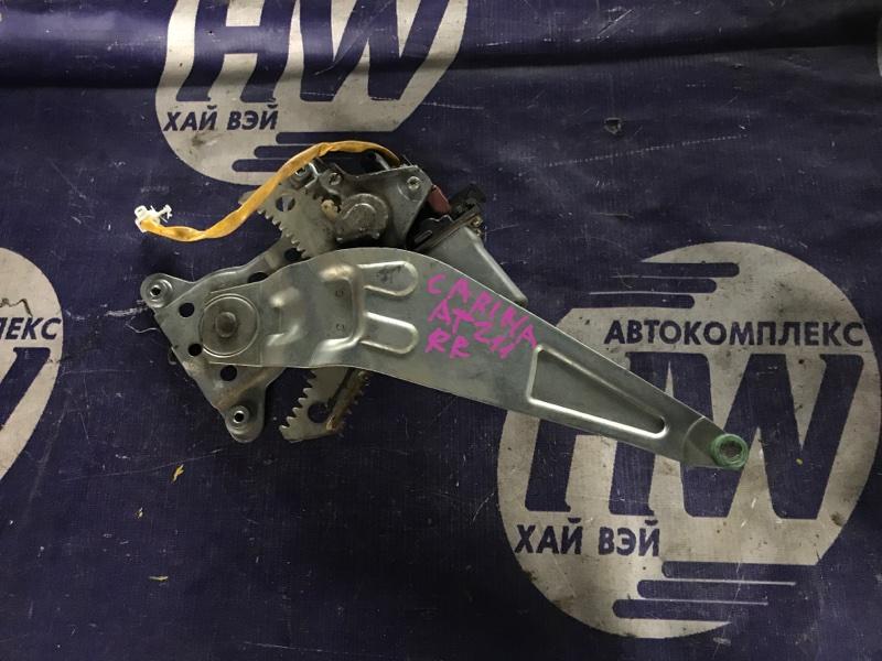 Стеклоподъемник Toyota Carina AT211 7A 2000 задний правый (б/у)