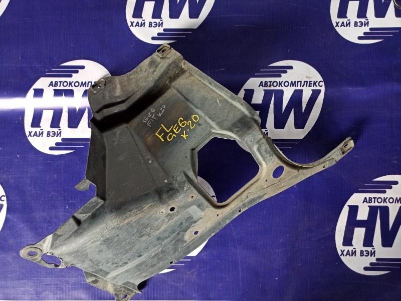 Защита двигателя Honda Fit GE6 L13A 2008 левая (б/у)