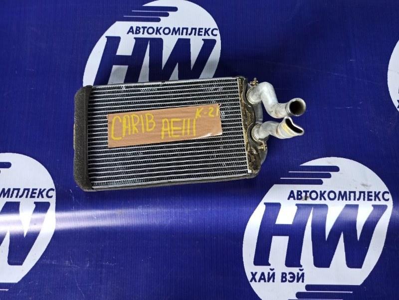Радиатор печки Toyota Sprinter Carib AE111 4A (б/у)