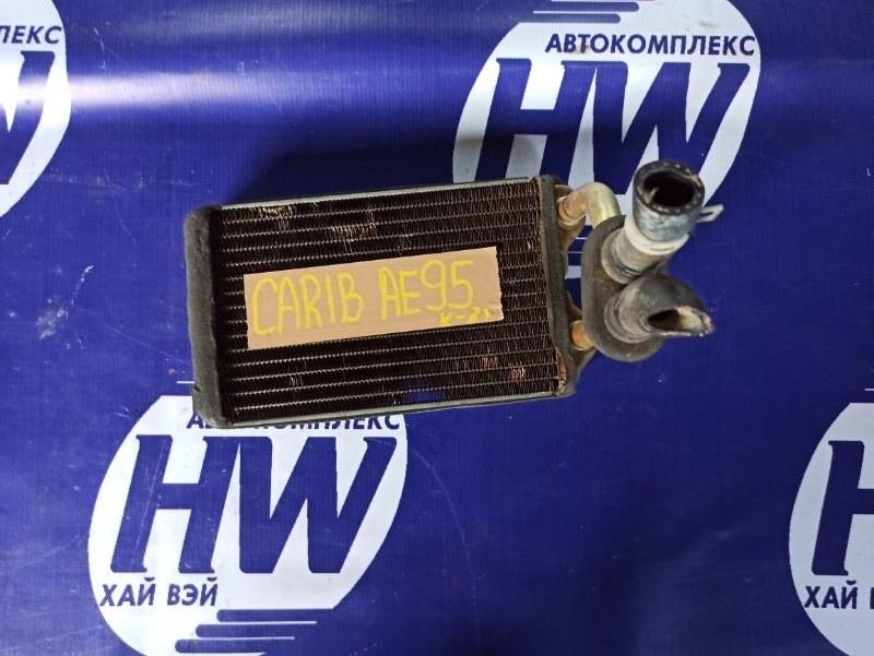 Радиатор печки Toyota Sprinter Carib AE95 4AFHE 1995 (б/у)
