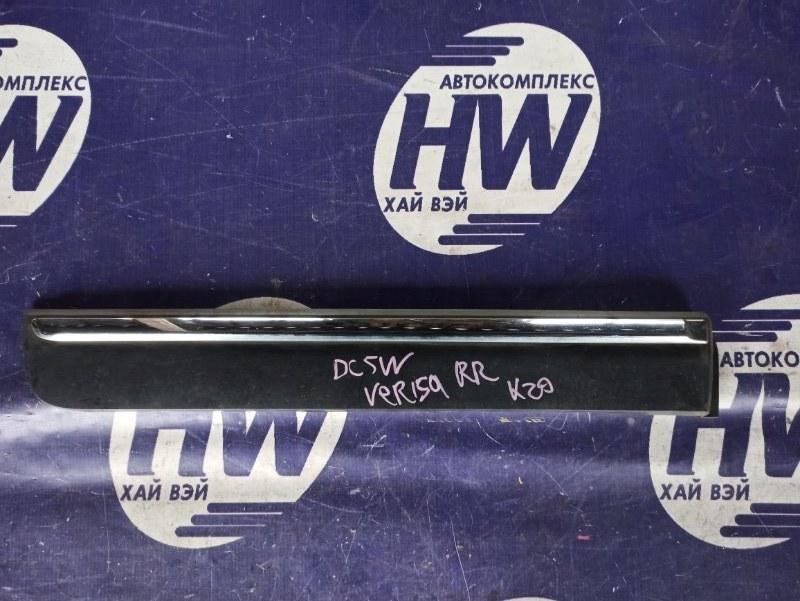 Накладка на дверь Mazda Verisa DC5W ZY задняя правая (б/у)