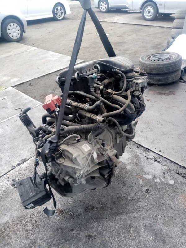 Автомат Toyota Vitz KSP90 1KR (б/у)