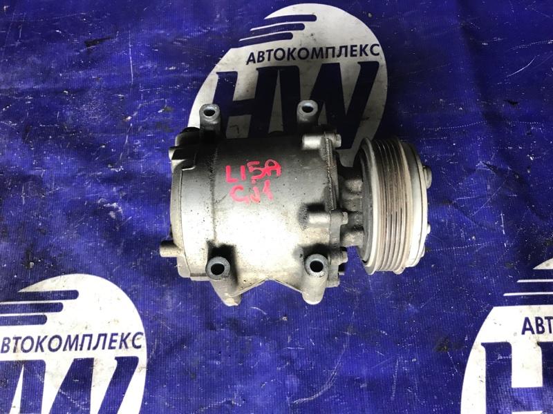 Компрессор кондиционера Honda Airwave GJ1 L15A (б/у)