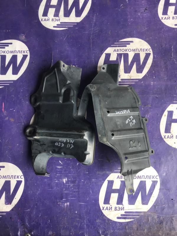 Защита двигателя Nissan March K11 CG10 правая (б/у)
