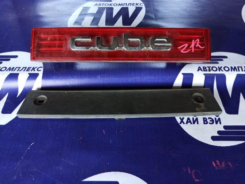 Стоп-вставка Nissan Cube Z12 HR15 (б/у)