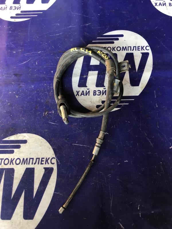 Трос ручника Honda Airwave GJ1 L15A левый (б/у)