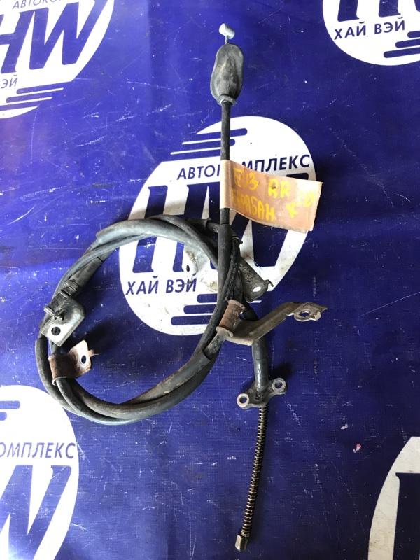 Трос ручника Honda Civic EU3 D17A правый (б/у)