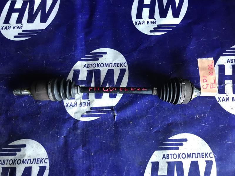 Привод Honda Fit GD1 L13A передний левый (б/у)