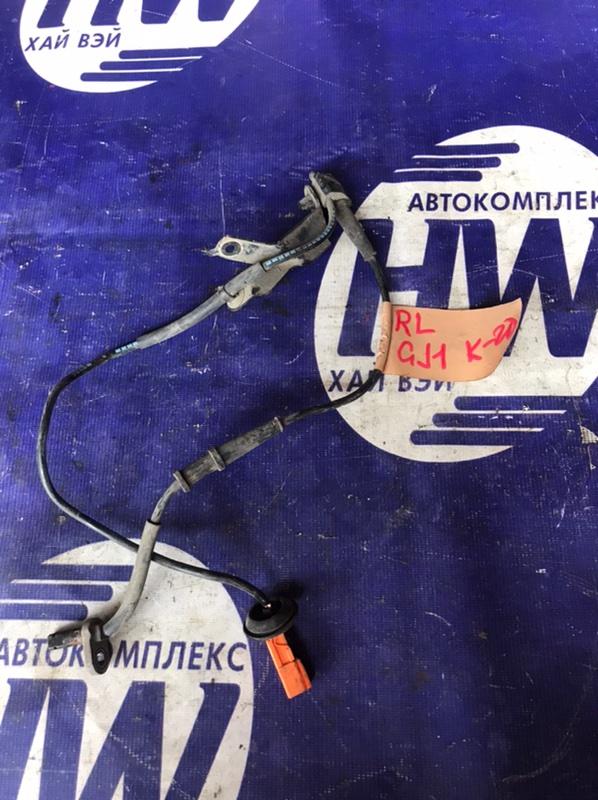 Датчик abs Honda Airwave GJ1 L15A задний левый (б/у)