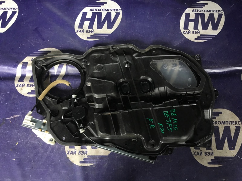 Стеклоподъемник Mazda Demio DE3FS ZJ передний правый (б/у)