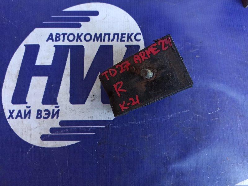 Подушка двс Nissan Homy ARME24 TD27 правая (б/у)