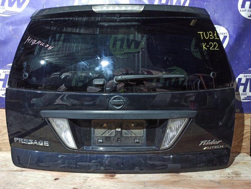 Дверь 5-я Nissan Presage TU31 QR25DE (б/у)