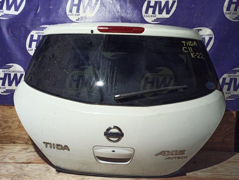 Дверь 5-я Nissan Tiida C11 HR15 (б/у)
