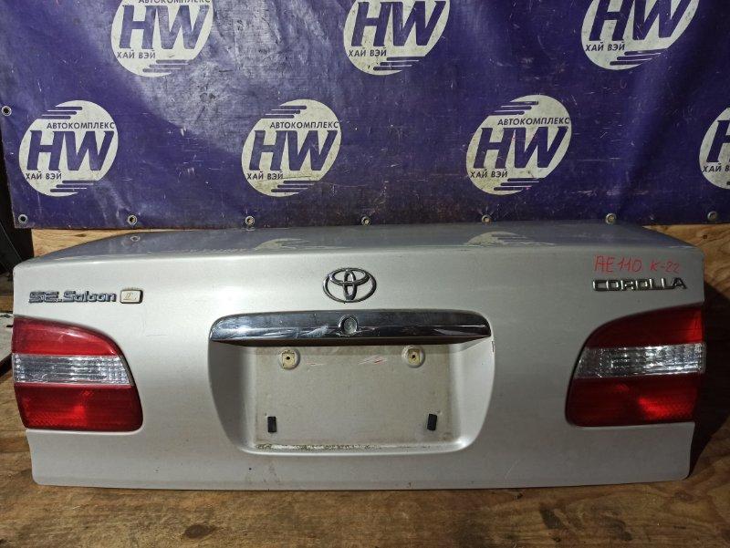 Крышка багажника Toyota Corolla AE110 5A 1999 (б/у)