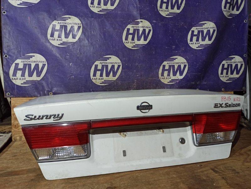 Крышка багажника Nissan Sunny FB15 QG15 (б/у)
