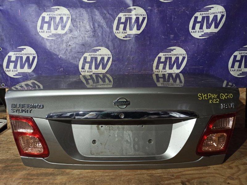 Крышка багажника Nissan Bluebird Sylphy QG10 QG18 (б/у)