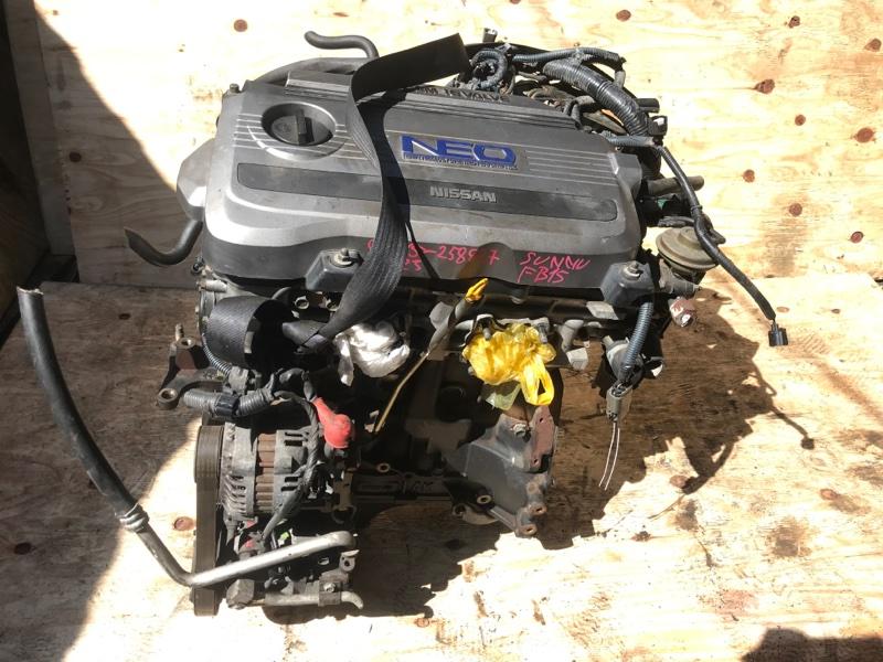 Двигатель Nissan Sunny FB15 QG15 (б/у)