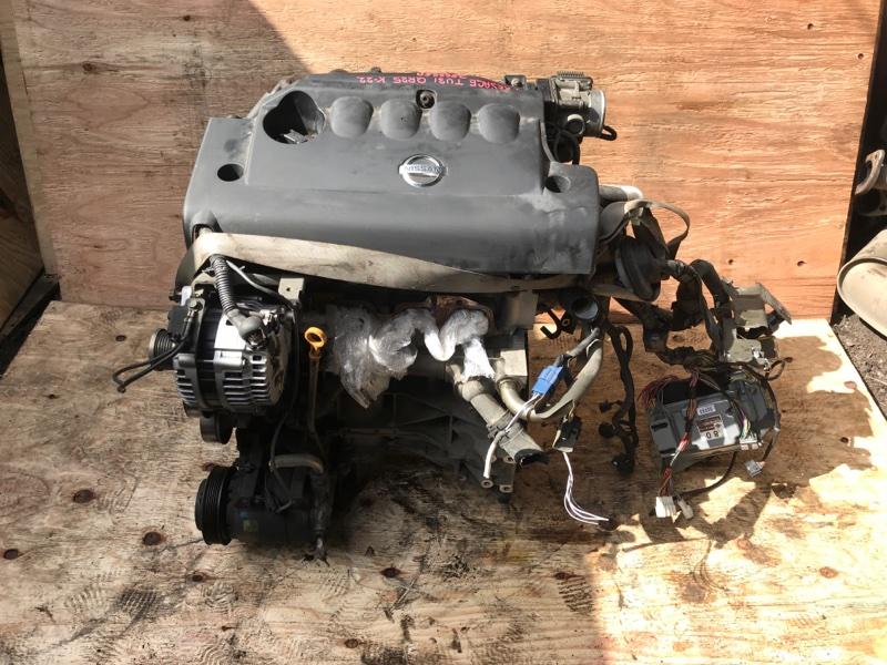 Двигатель Nissan Presage TU31 QR25DE (б/у)