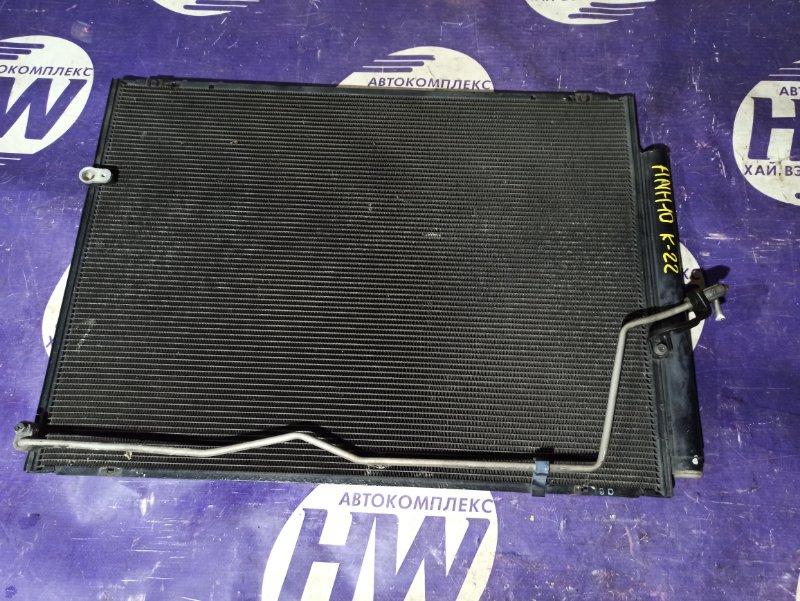 Радиатор кондиционера Toyota Alphard ANH10 2AZ (б/у)