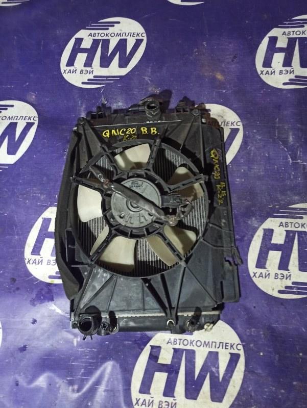 Радиатор Toyota Bb QNC20 K3VE (б/у)